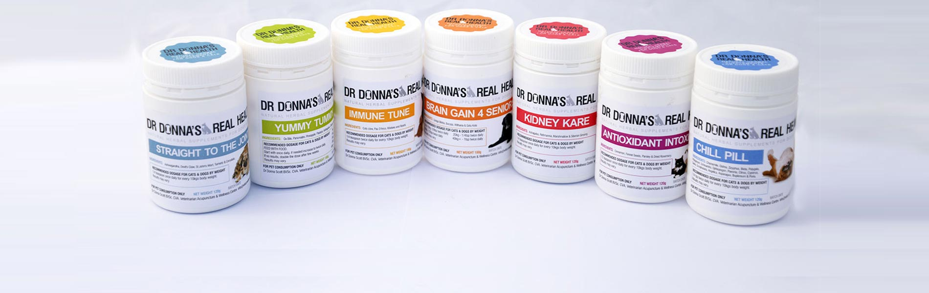 DR DONNA'S REAL HEALTH PRODUCTS